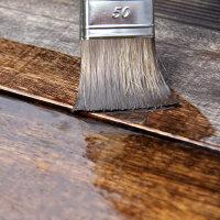 Set zum Beschichten von Holz mit Epoxidharz
