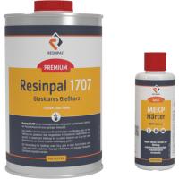 1 kg Crystal Clear Casting Resin Resinpal 1707 + 20 g Hardener