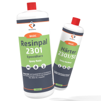 1 kg Epoxy Resin Resinpal 2301 + 0,5 kg Hardener